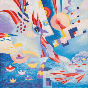 Картина «Морская прогулка» Ирина ШУМСКАЯ