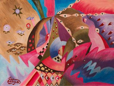 Картина «Космическое настроение» Ирина ШУМСКАЯ