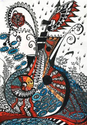 Картина «Прощальный джаз» Ирина ШУМСКАЯ