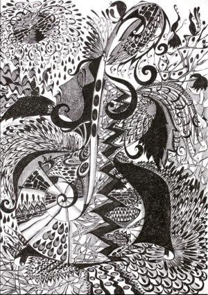 Картина «Магия Женщины» Ирина ШУМСКАЯ