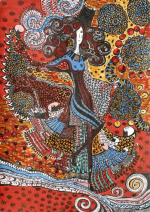 Картина «Хозяйка реки» Ирина ШУМСКАЯ