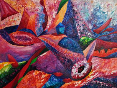 Картина «Персиковая косточка» Ирина ШУМСКАЯ