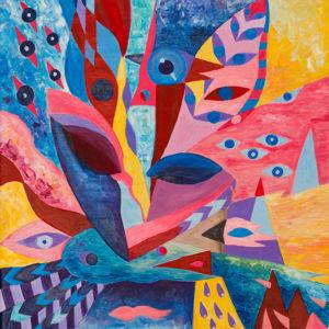 Картина «Приятные мечты» Ирина ШУМСКАЯ