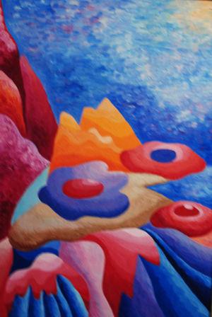 Картина «Тайны океана» Ирина ШУМСКАЯ