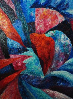 Картина «Рождение души» Ирина ШУМСКАЯ