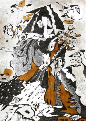 Картина «Снежная Королева» Ирина ШУМСКАЯ