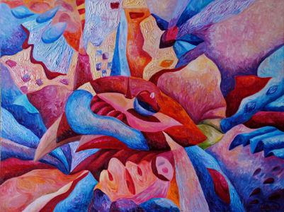 Картина «Томный вечер» Ирина ШУМСКАЯ