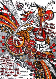 Картина «Любовь птиц» Ирина ШУМСКАЯ